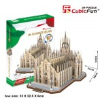 Cubic-Fun-MC210h Puzzle 3D - Duomo di Milano (Difficulté: 8/8)
