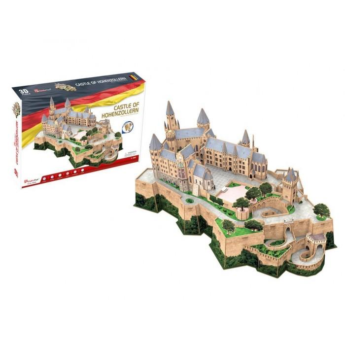 Puzzle 3D - Château de Hohenzollern - Difficulté : 7/8