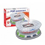 Cubic-Fun-MC249H 3D Puzzle - Polnisch Nationalstadium