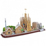 Cubic-Fun-MC256h Puzzle 3D - Barcelone - Difficulté : 4/8