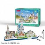 Cubic-Fun-MC267H Puzzle 3D - Cityline - Bavaria