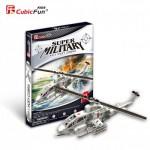 Cubic-Fun-P603H Puzzle 3D - AH-1 Huey Cobra