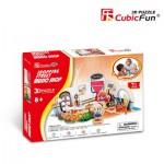 Cubic-Fun-P627H Puzzle 3D - Magasin de musique (Difficulté : 4/8)
