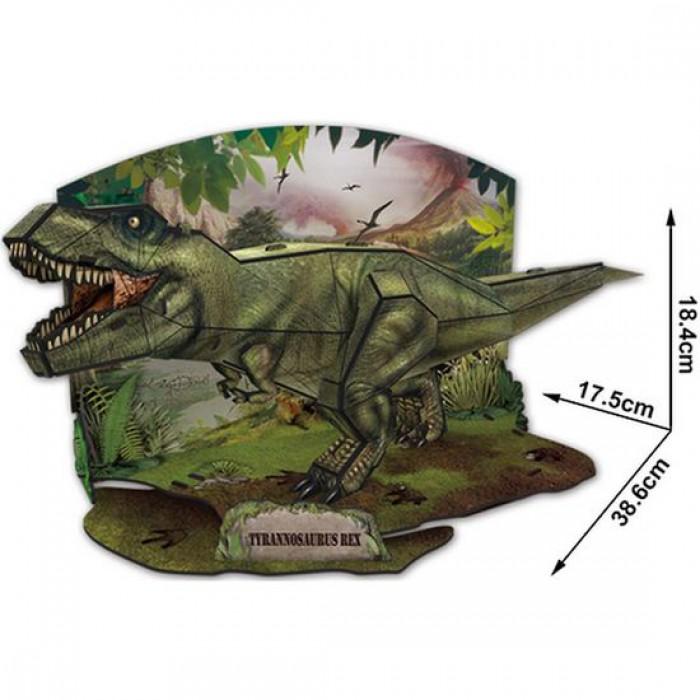 Puzzle 3D - T-Rex - Difficulté : 4/7