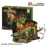 Cubic-Fun-P670H Puzzle 3D - Stégosaures - Difficulté : 4/7