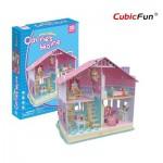 Cubic-Fun-P679h Puzzle 3D - La Maison de Carrie (Difficulté : 4/6)