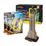 Puzzle 3D - Empire State Building (Difficulté : 6/8)