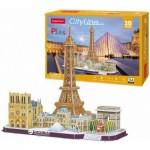 Puzzle 3D - Paris- Difficulté : 4/8