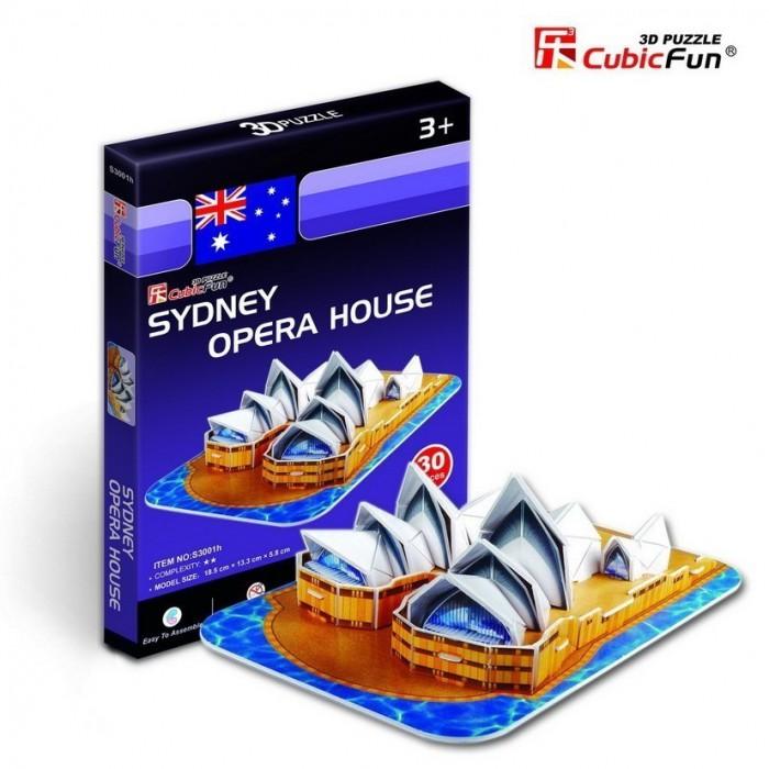 Puzzle 3D Série Mini - Australie : Opéra de Sydney (Difficulté 2/8)