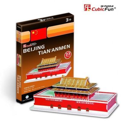Cubic-Fun-S3004H Puzzle 3D Série Mini - Chine, Pékin : Tian' Anmen (Difficulté 2/8)