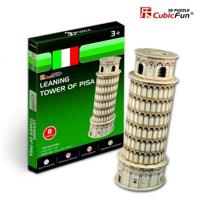 Puzzle 3D Série Mini - Italie : Tour de Pise (Difficulté 2/8)