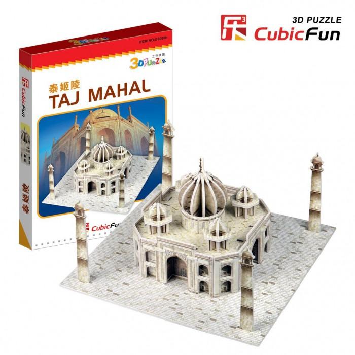 Puzzle 3D Série Mini - Inde : Taj Mahal (Difficulté 2/8)