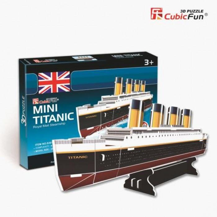 Puzzle 3D Série Mini - Titanic (Difficulté 2/8)