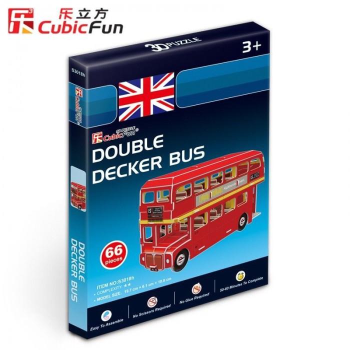 Puzzle 3D Série Mini - Bus Londonien (Difficulté 2/8)
