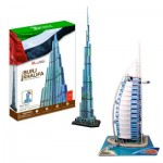 Cubic-Fun-Set-Dubai 2 Puzzles 3D - Set Dubai
