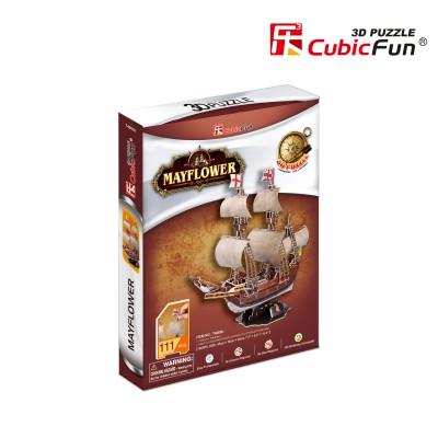 Cubic-Fun-T4009H Puzzle 3D - May Flower (Difficulté 4/8)