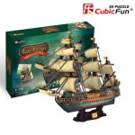 Cubic-Fun-T4017H Puzzle 3D - The Spanish Armada-San Felipe - Difficulté : 8/8