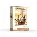 Cubic-Fun-T4031h Puzzle 3D - Santa Maria - Difficulté: 4/6