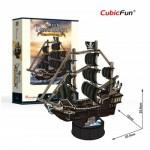 Cubic-Fun-T4035h Puzzle 3D - Queen Anne's Revenge - Difficulté: 4/6