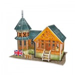 Cubic-Fun-W3107h Puzzle 3D - British Flavor Villa