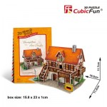 Cubic-Fun-W3125h Puzzle 3D World Style - Welcome to Germany