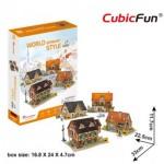 Cubic-Fun-W3189h Puzzle 3D - 3D World Style - Allemagne - Difficulté: 4/6