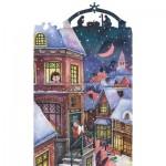 Puzzle en Bois - L'Ange de Noël