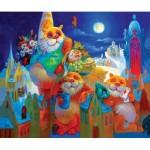 HCM-Kinzel-69117 Puzzle en Bois - Fête de la Pleine Lune