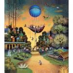 HCM-Kinzel-69121 Puzzle en Bois - Voyage dans le Ciel