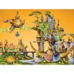 HCM-Kinzel-69128 Puzzle en Bois - Un Rêve de Chat