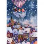 HCM-Kinzel-69135 Puzzle en Bois - Le Voyage de Noël