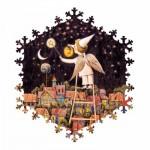 HCM-Kinzel-69136 Puzzle en Bois - Ciel Etoilé