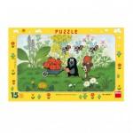 Dino-00108 Puzzle Cadre - La Petite Taupe