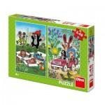 2 Puzzles - La Petite Taupe