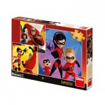 3 Puzzles - The Incredibles II