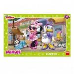 Dino-30126 Puzzle Cadre - Minnie à Montmartre