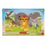 Dino-30127 Puzzle Cadre - Le Roi Lion