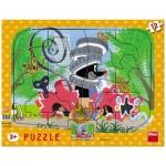 Dino-30309 Puzzle Cadre - La Petite Taupe
