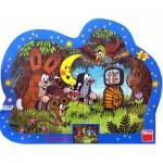 Dino-31112 Puzzle Cadre - La Petite Taupe