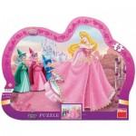 Dino-31117 Puzzle Cadre - Disney Princess