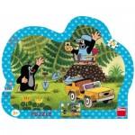 Dino-31131 Puzzle Cadre - La Petite Taupe