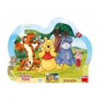 Dino-31132 Puzzle Cadre - Winnie l'Ourson