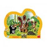 Dino-31133 Puzzle Cadre - La Petite Taupe