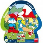 Dino-31134 Puzzle Cadres - Les Schtroumpfs