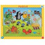 Dino-32201 Puzzle Cadre - La Petite Taupe