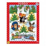 Dino-32213 Puzzle Cadre - La Petite Taupe