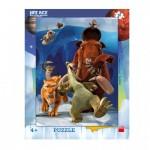Dino-32216 Puzzle Cadre - L'âge de Glace