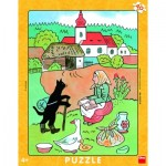 Dino-32222 Puzzle Cadre - En Voyage
