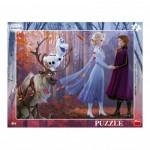 Dino-32224 Puzzle Cadre - La Reine des Neiges 2