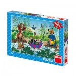 Puzzle  Dino-34342 Pièces XXL - La Petite Taupe